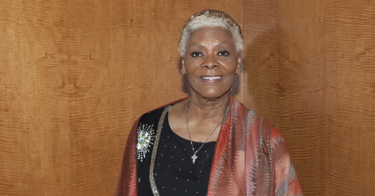 Singer Dionne Warwick attends a reception for the 2013 Ellis Island Medals of Honor at Ritz Carlton Battery Park on May 11, 2013 in New York City.