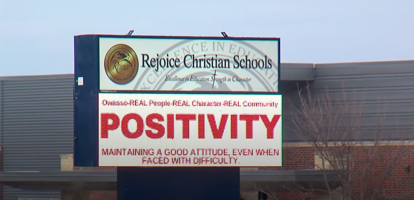 Rejoice Christian School in Oklahoma expelled a girl for having a crush