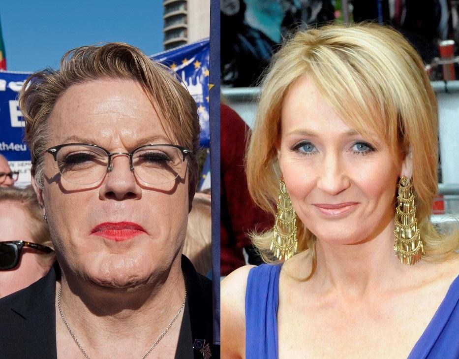 Eddie Izzard & J.K. Rowling