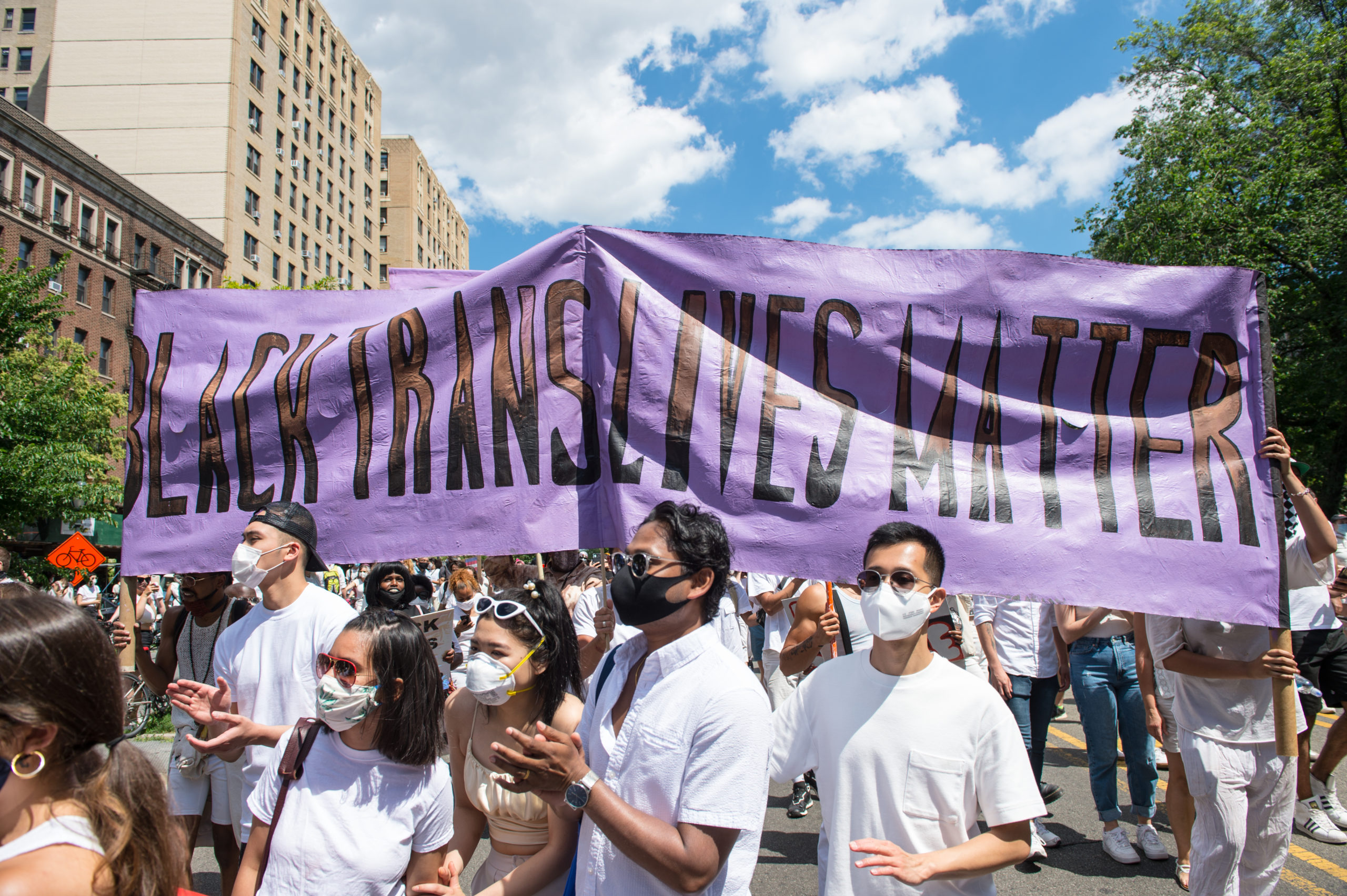 The Brookyn Liberation - An Action for Black Trans Lives Protest held in Brooklyn, New York on June 14, 2020.