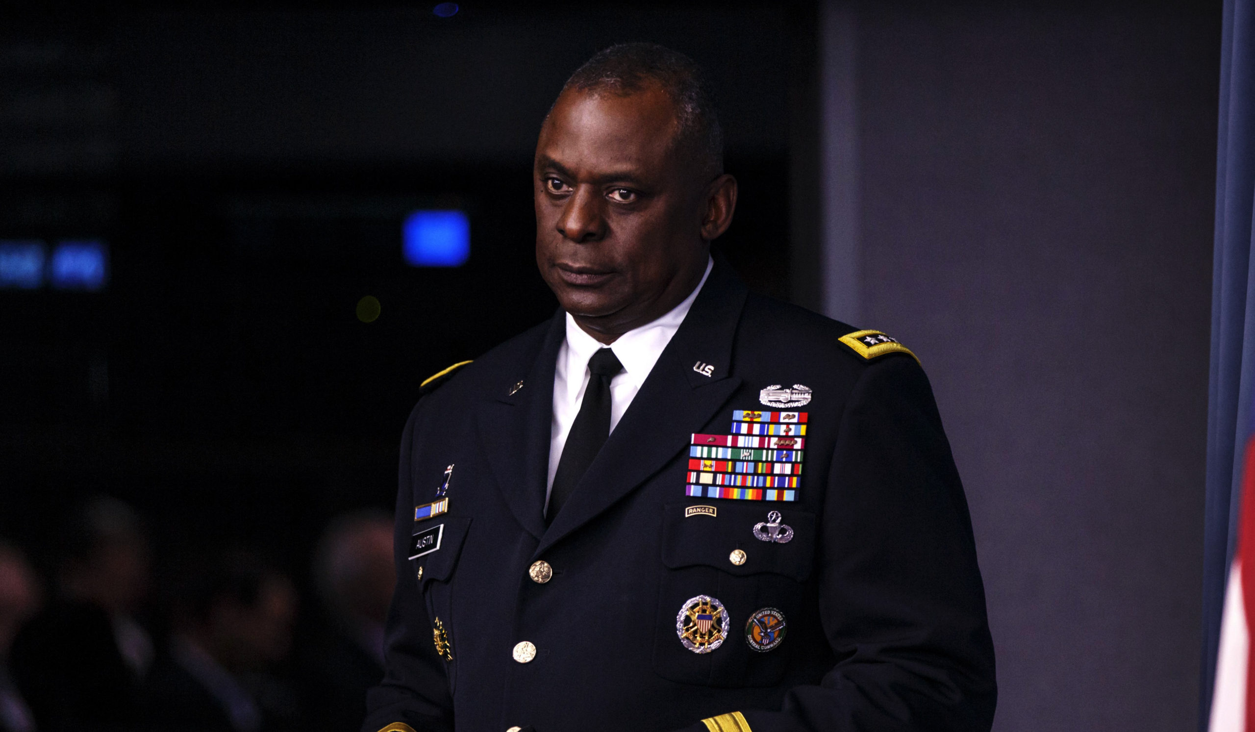 Retired General Lloyd Austin on Jan. 17, 2021