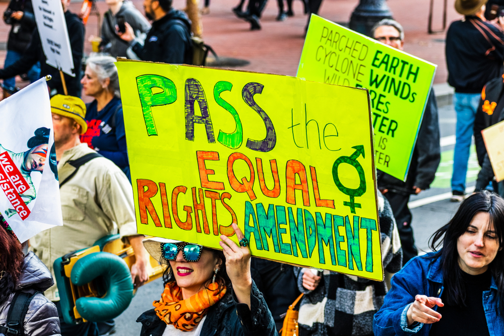 Republicans argued the Equality Act hurts women & then voted against women's rights bills