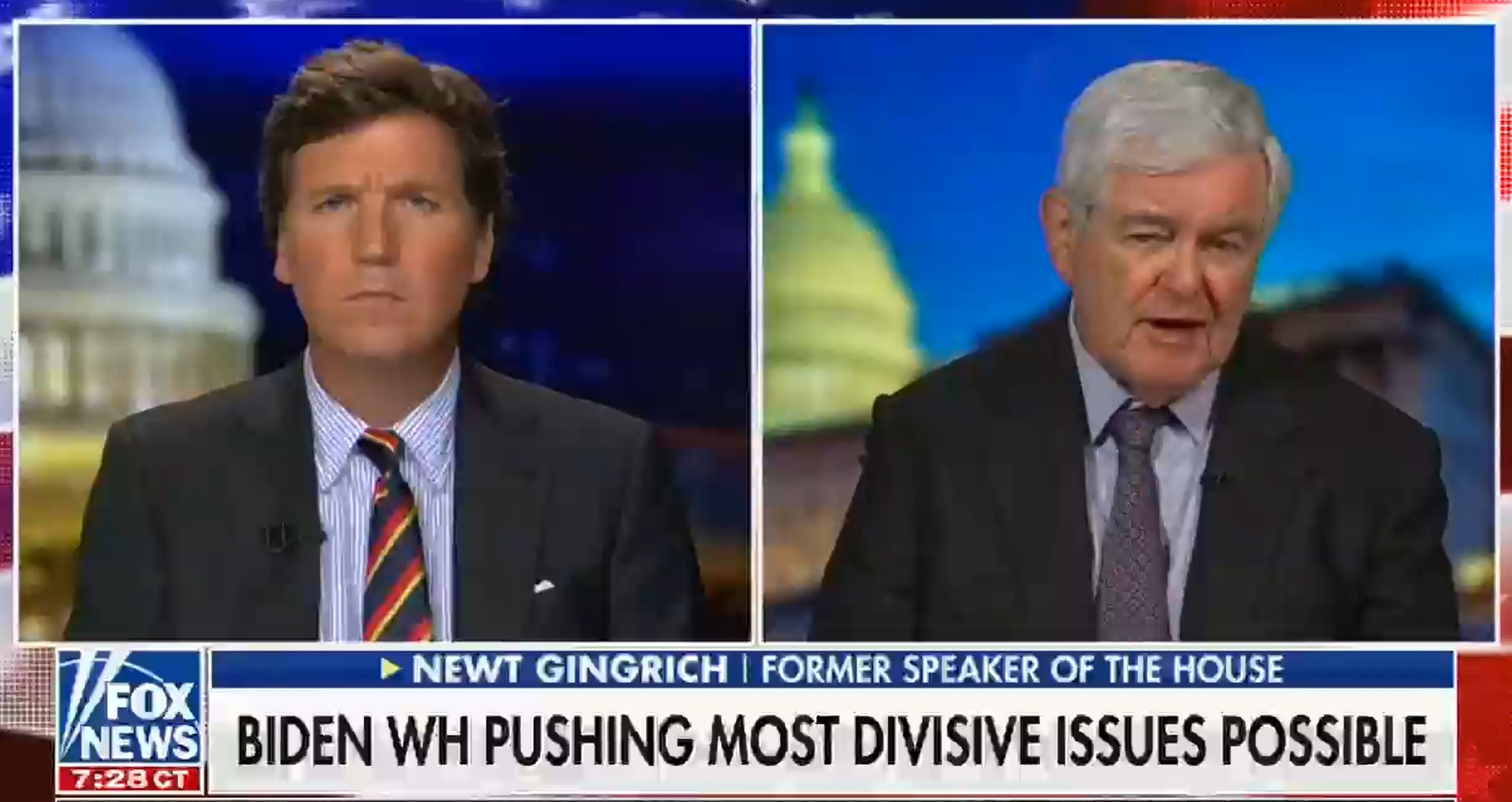 Fox News has aired 86 mostly negative segments on trans rights since Biden took office