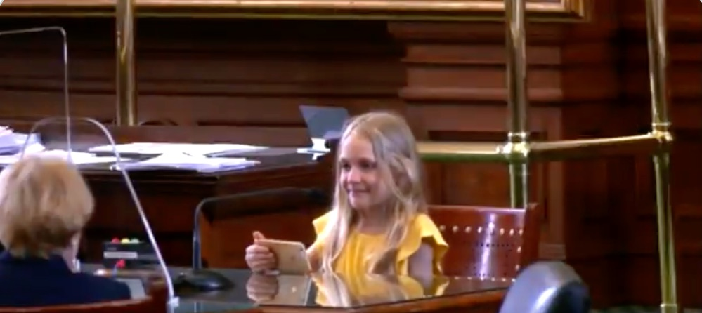 "4th grader shames GOP Texas senators who have been ""attacking me since Pre-K"""