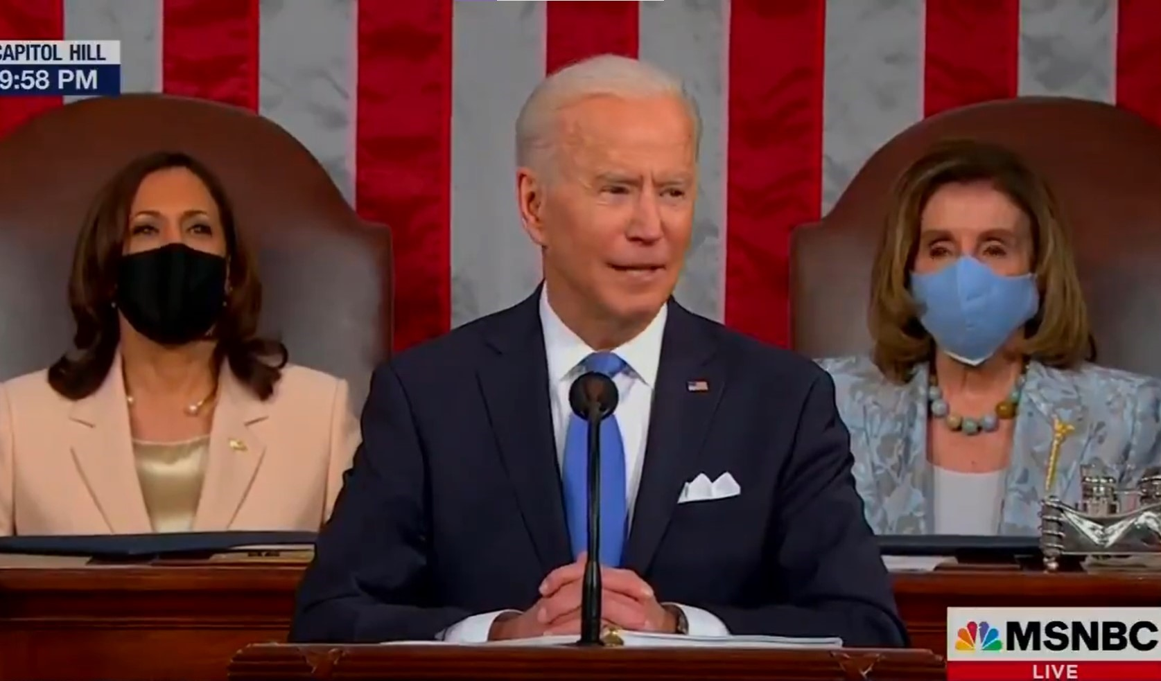 """President Biden calls trans youth """"brave"""" in historic speech to joint session of Congress"""