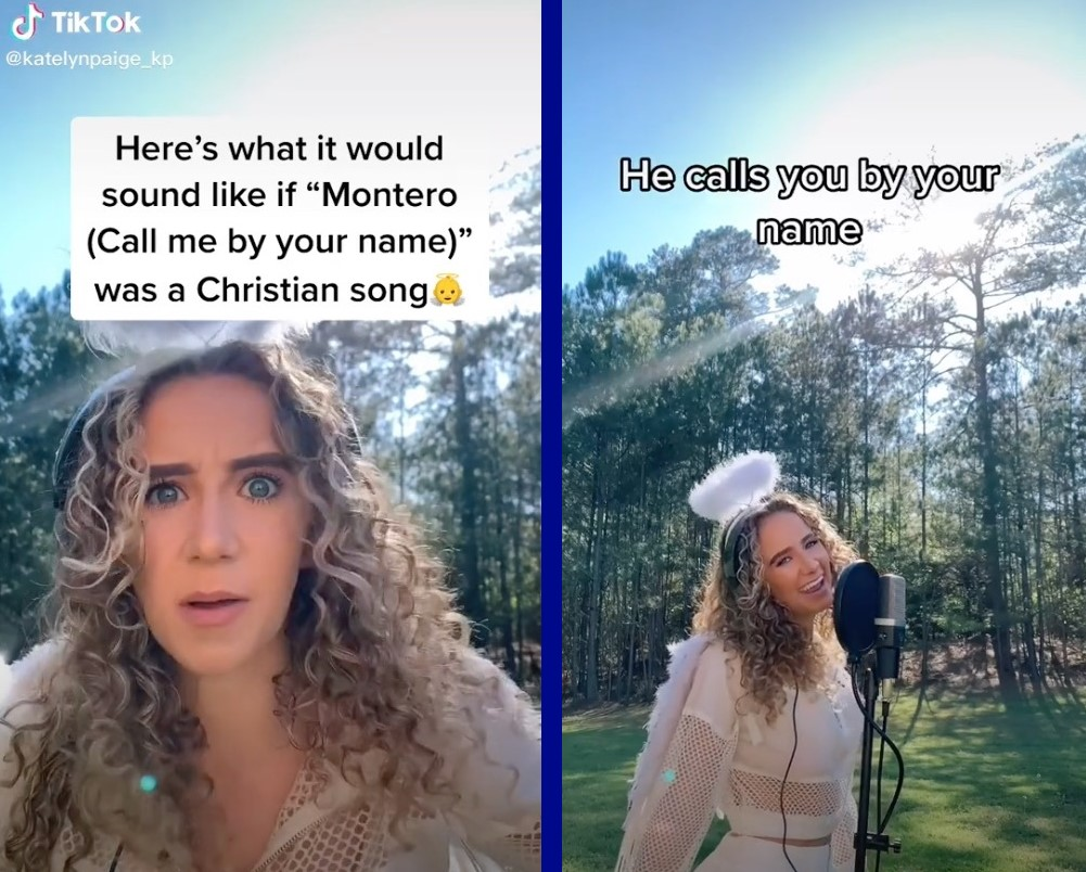 There's now a cringeworthy Christian version of Lil Nas X's hit song about gay sex