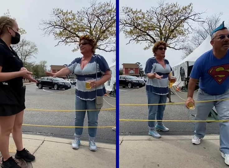 Middle school vice principal hurls beer at trans woman at restaurant as his wife shouts slurs