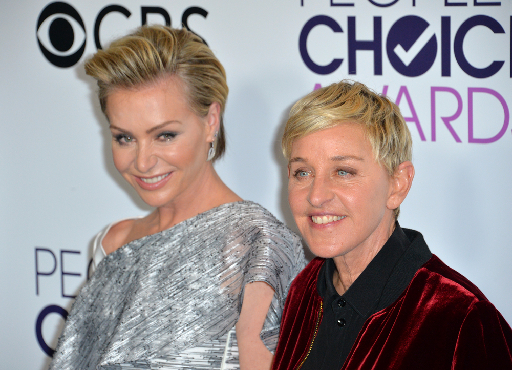 Ellen talks about the night she drove under the influence & Portia ended up in the hospital