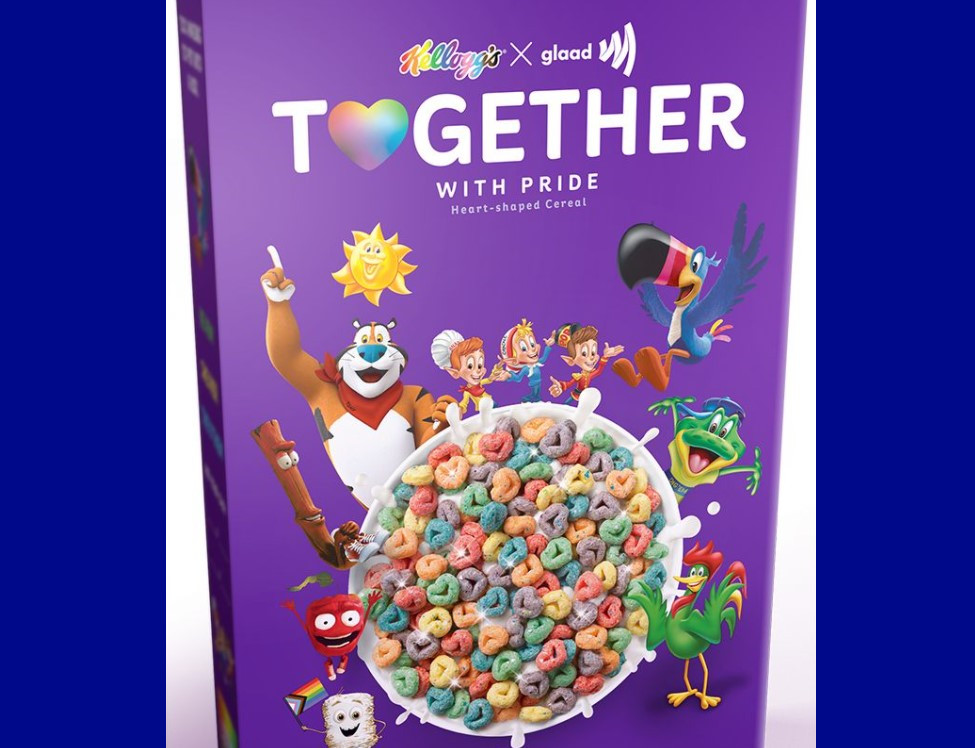 """Kelloggs launches heart-shaped rainbow """"Pride"""" cereal covered in edible glitter"""