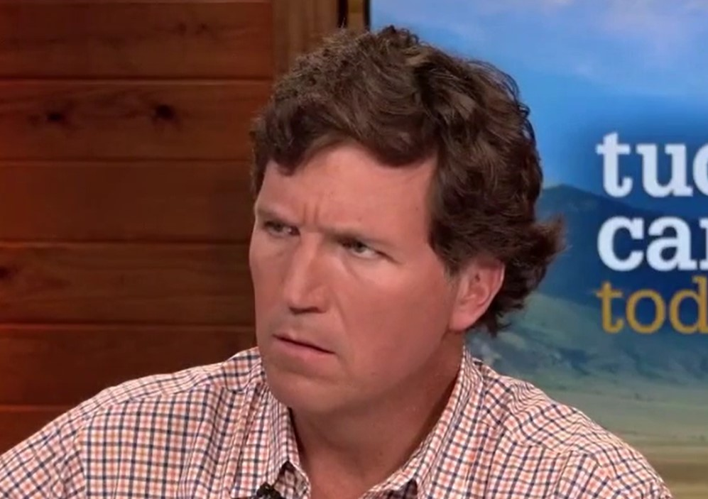 """Tucker Carlson says transgender people threaten """"the perpetuation of the species"""""""