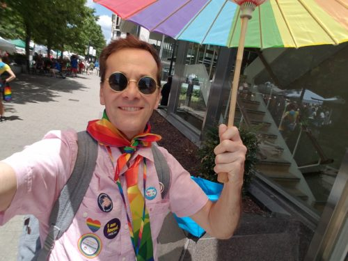Dennis Vierling, Raleigh Pride, Pride in Pictures