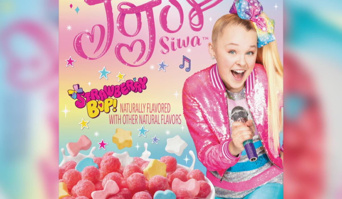 Here's how to make JoJo Siwa's new Strawberry Bop! cereal taste better