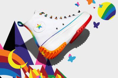 Converse Pride Run Star Hike sneakers