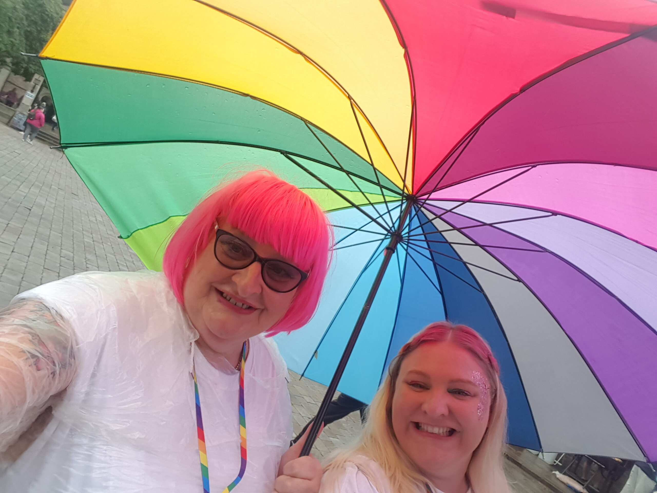 Pride in Pictures: My first parade with my daughter