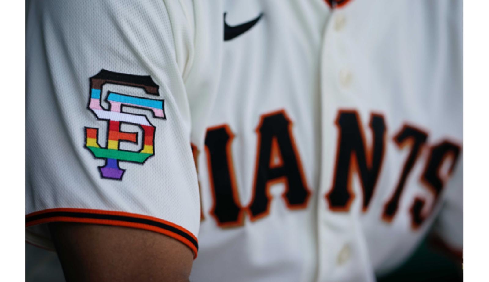 San Francisco Giants make sports history wearing Pride-themed uniforms