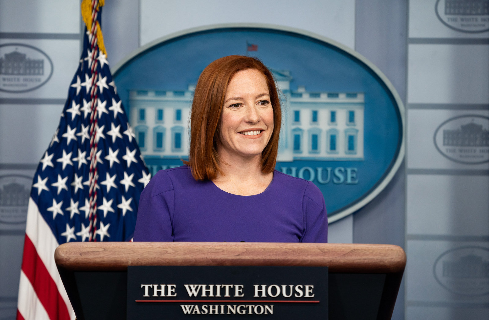 Jen Psaki mocks Fox reporter with reminder Trump suggested injecting Lysol to fight COVID