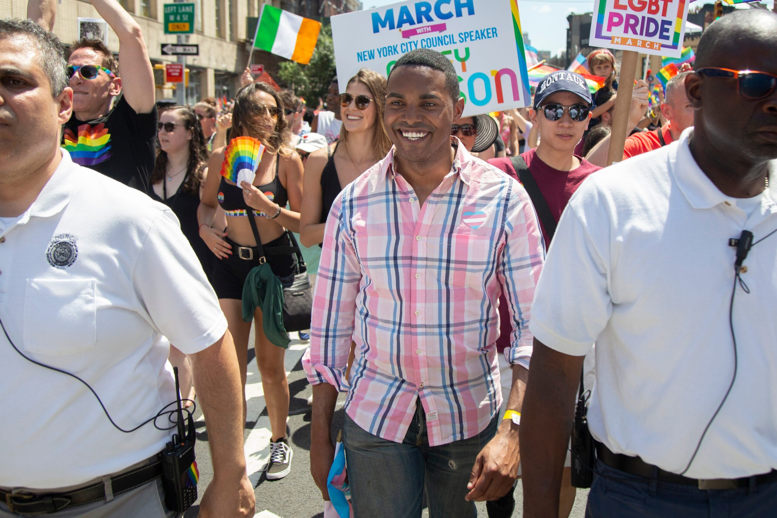 Pride in Pictures: Rep. Ritchie Torres celebrates loudly and proudly