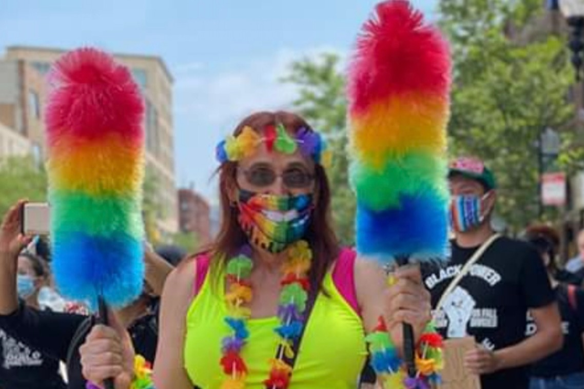 Pride in Pictures: Showing my rainbow colors