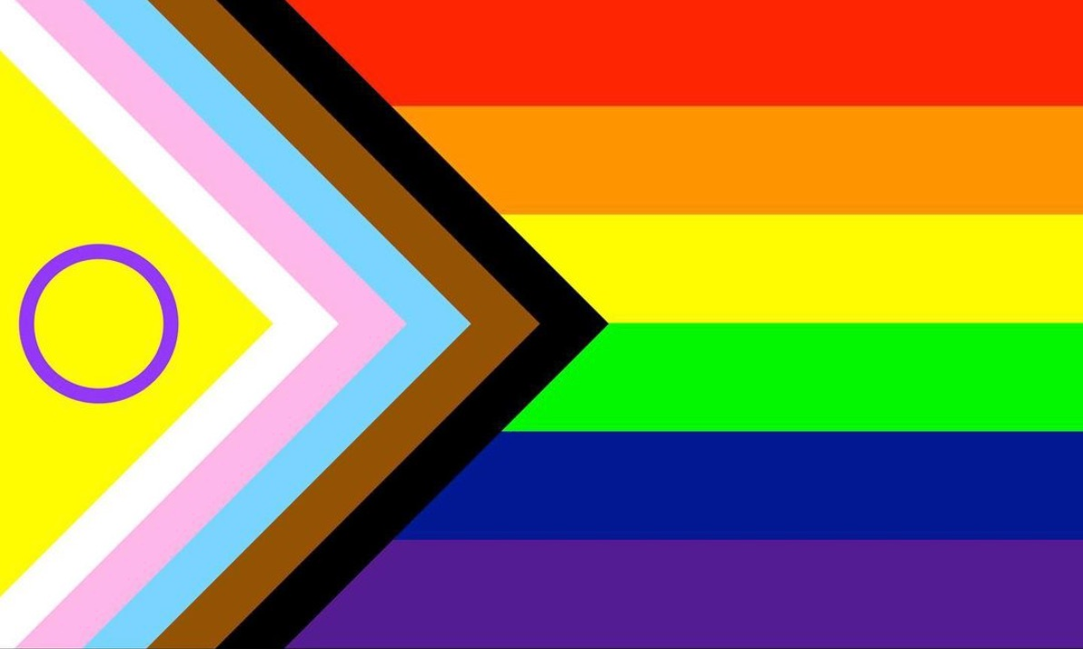 There's an update to the updated update to the Pride flag to better include intersex people
