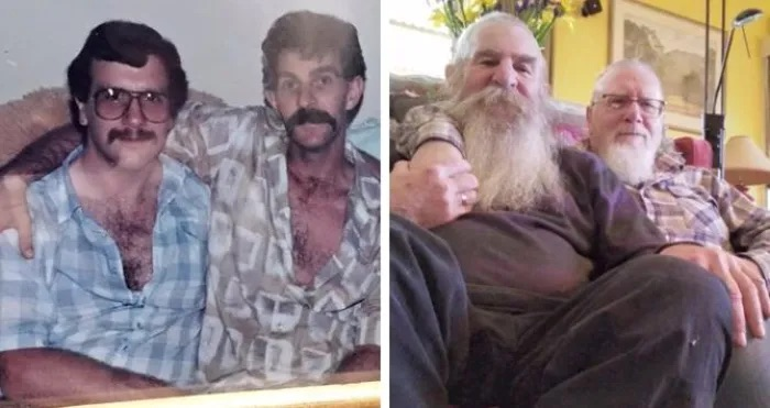 They've been together for 35 years. Now their love has gone viral.