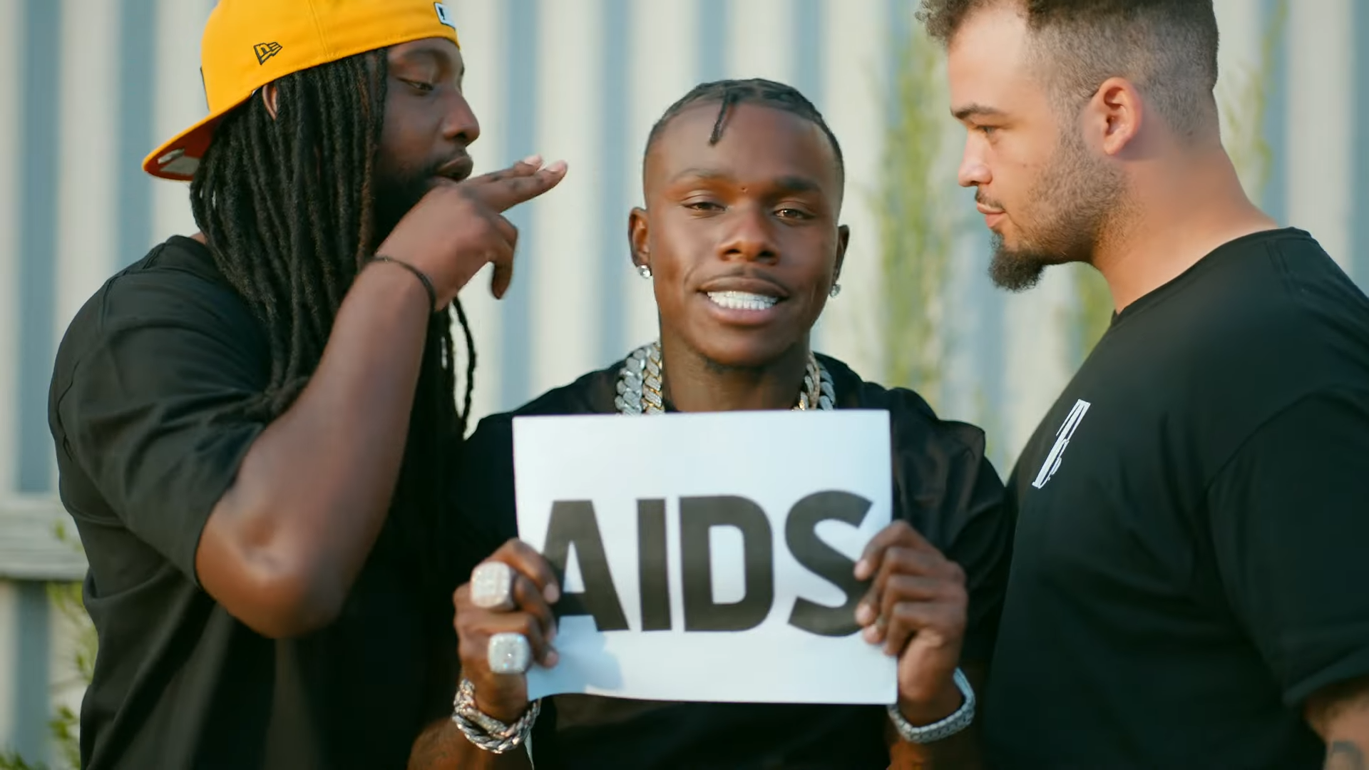 DaBaby drops new song with AIDS insults & tells LGBTQ people to stop hating him