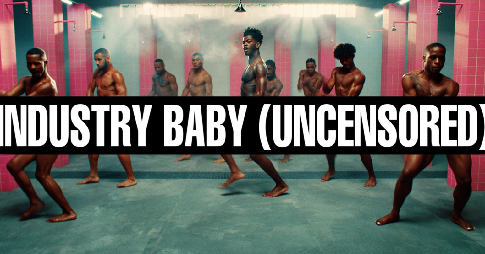 """Lil Nas X releases uncensored """"Industry Baby"""" video"""