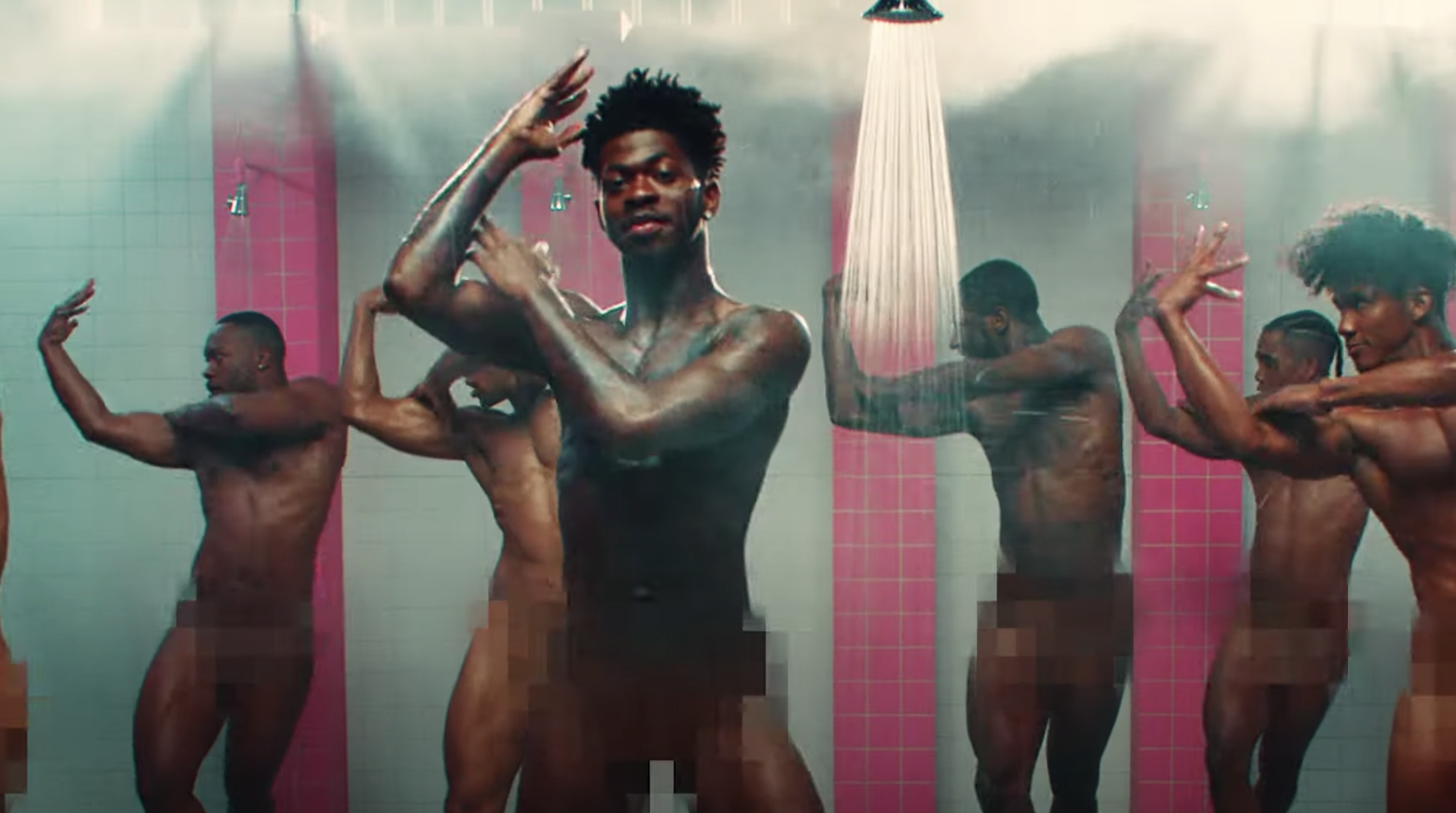 Lil Nas X dropped his latest single & he's making straight men thirsty this time