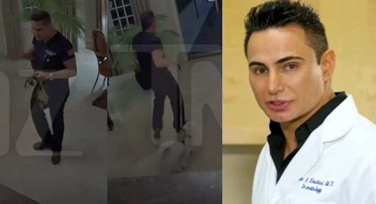 Beverly Hills doctor's violent anti-gay rant leaves neighbors fearing for their lives