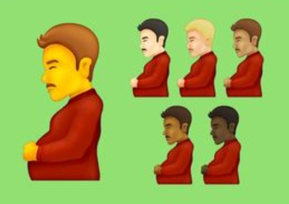 Pregnant man & pregnant person emojis may be in the next update