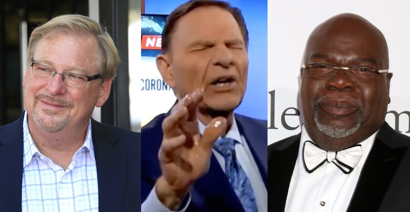 Kenneth Copeland, T.D. Jakes, & Rick Warren are being accused of sexual abuse