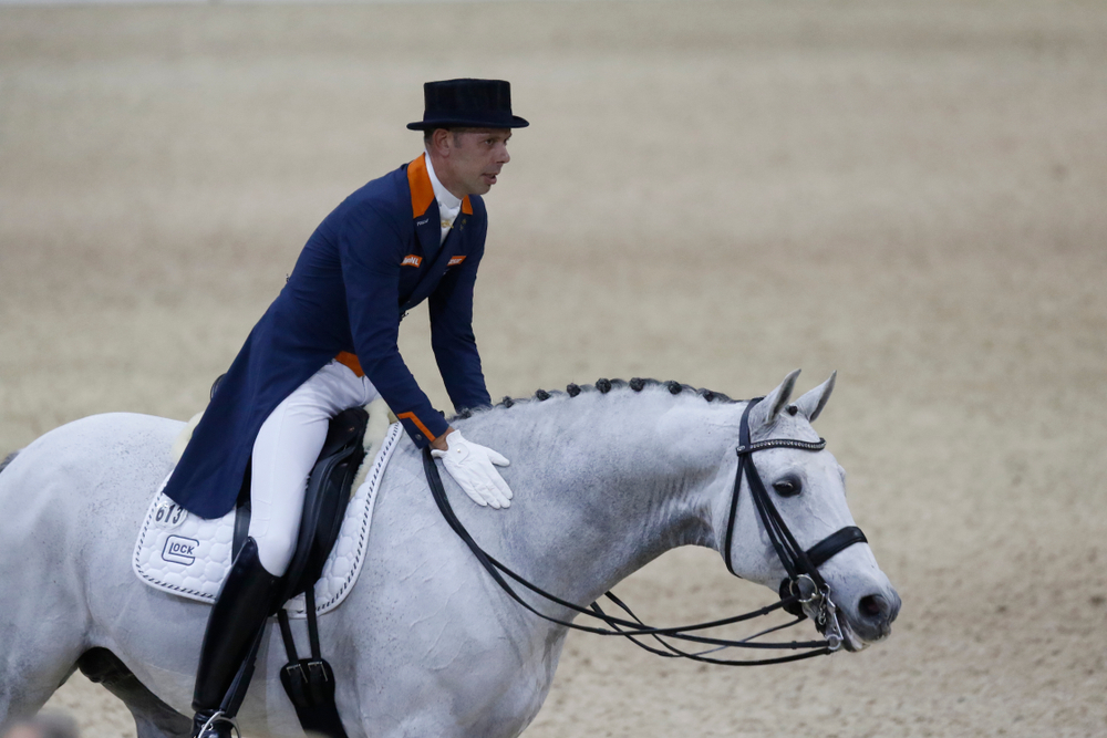 Gay couple to compete together in team dressage event at Olympics