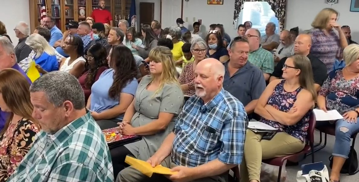 Angry parents disrupt school board meetings across Virginia to protest trans students' rights