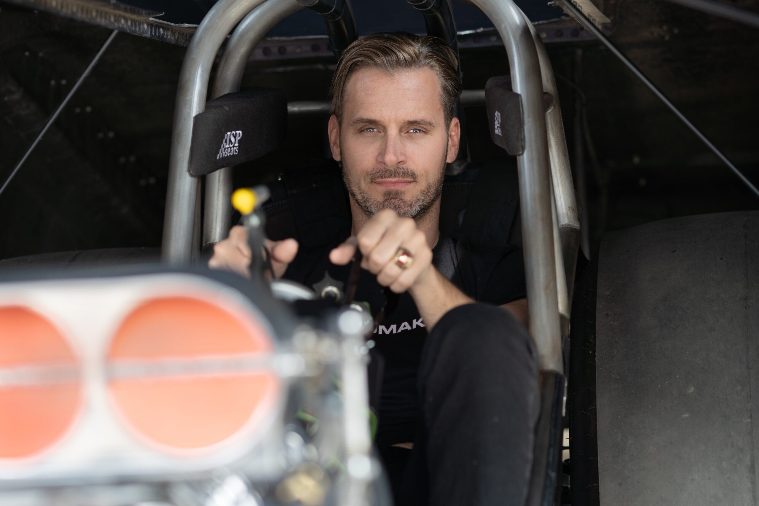 This gay man is trying to break into a different kind of drag racing