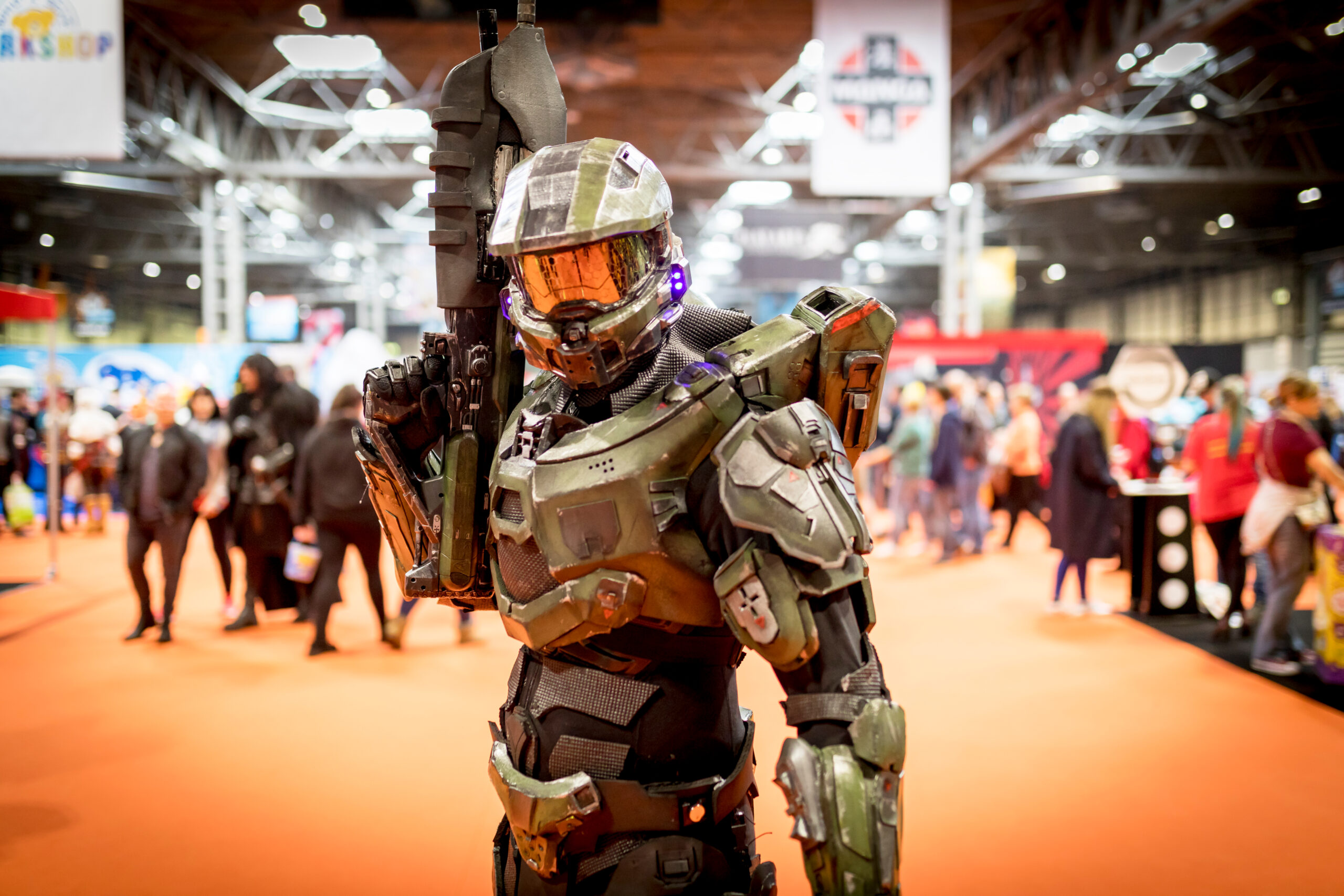 """Halo video game announcer was asked to say """"Trans rights."""" He went well beyond that."""