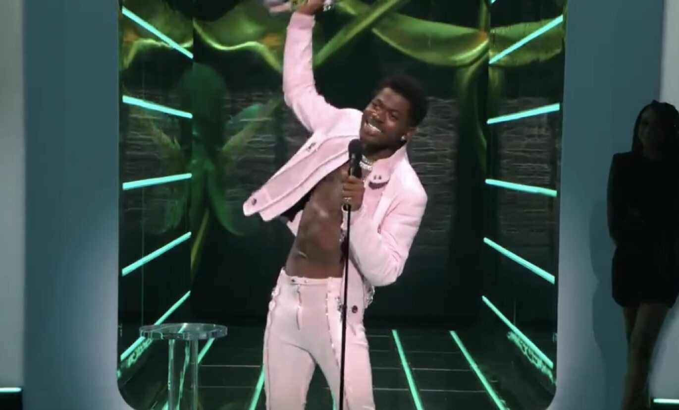 """Lil Nas X thanks """"the gay agenda"""" as he takes top trophy at the VMAs"""