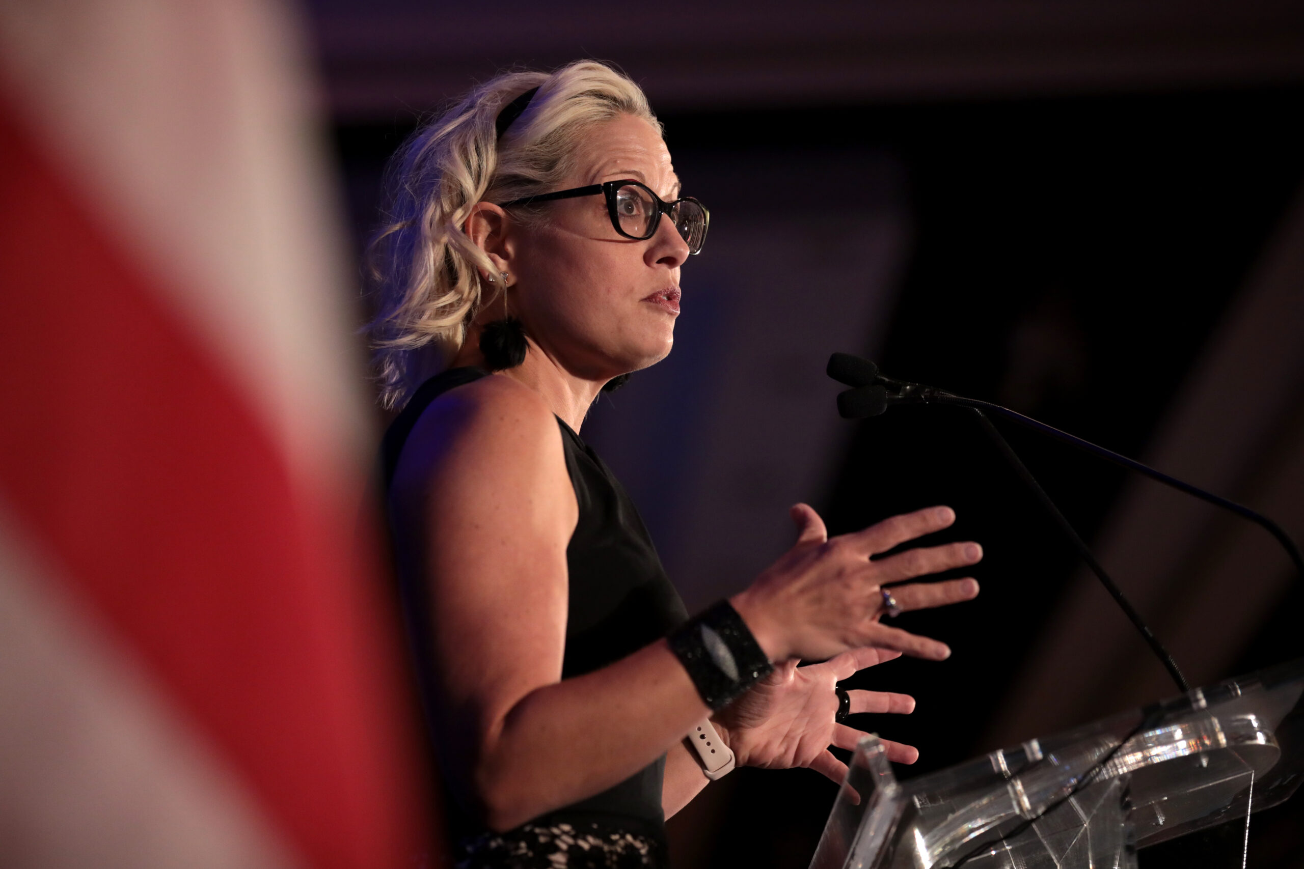 LGBTQ people need to wash our hands of Kyrsten Sinema. She doesn't deserve our support.