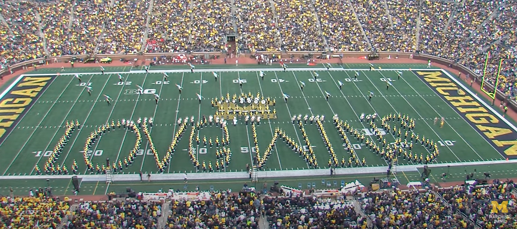 University marching band blows fans away with halftime show about support for LGBTQ rights