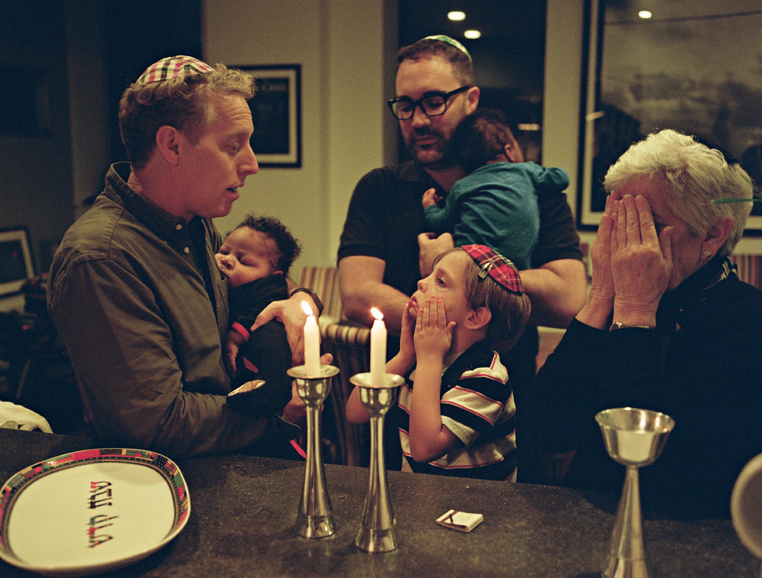 Jonathan and Eric and kids