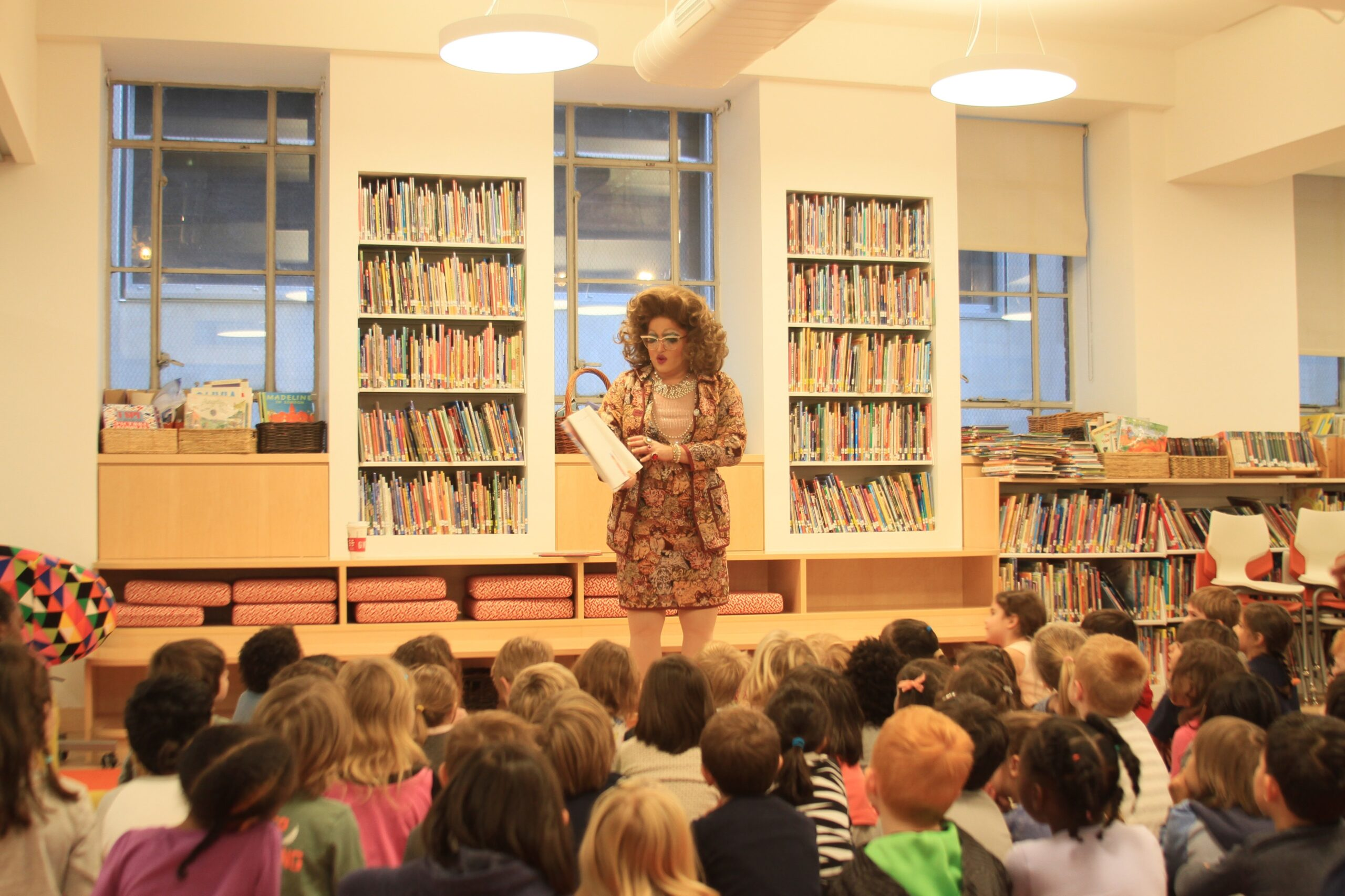 Drag Queen Story Hour events have taken place around the world at libraries, schools, museums, summer camps, and other community spaces.