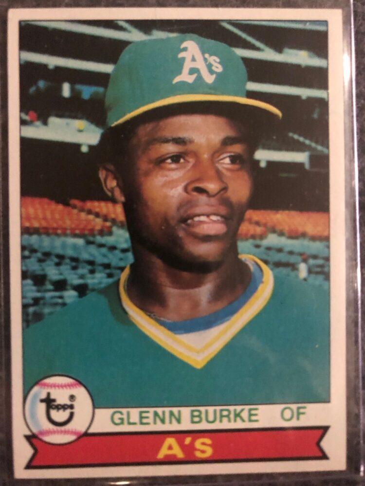 Glenn Burke's 1979 Topp's trading card.