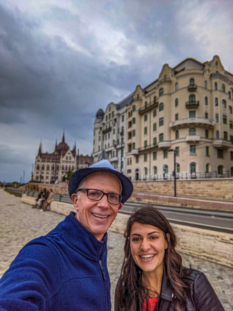 Manjusri and I in Budapest