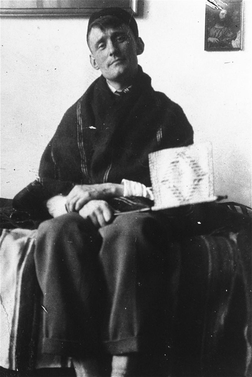 Willem Arondeus on the island of Urk.