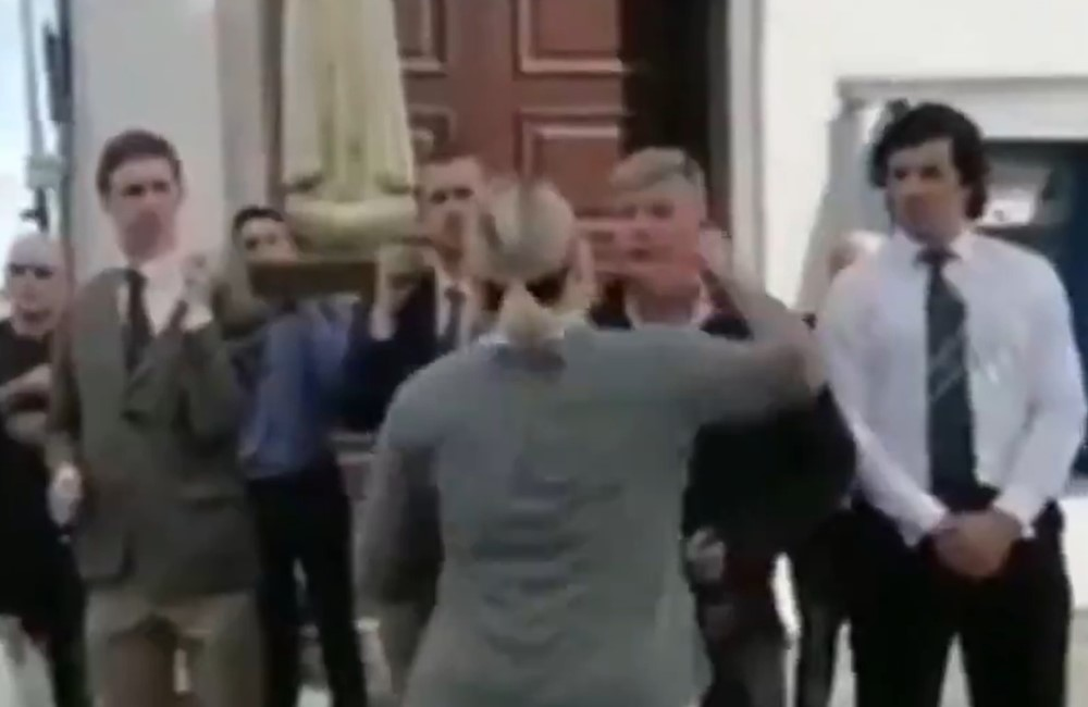 Woman goes viral for punching Pride protestor right in the face