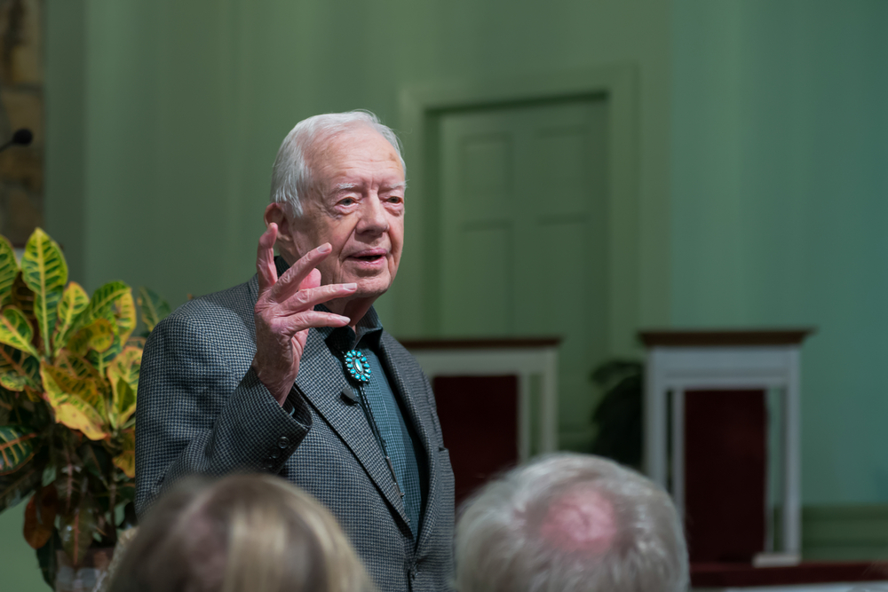 Jimmy Carter is finally getting the recognition he deserves, even on LGBTQ rights